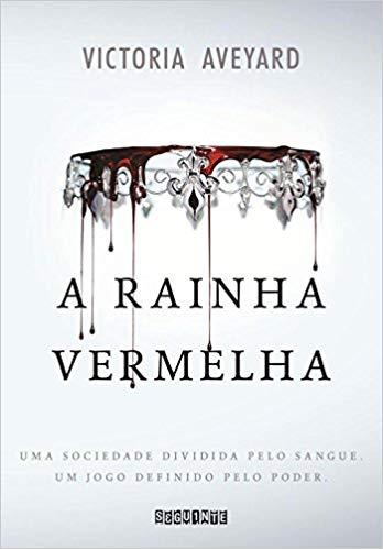 ranking livros fantasia a rainha vermelha