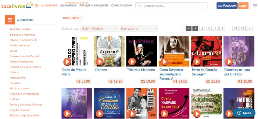 tocalivros onde comprar livros na internet no brasil