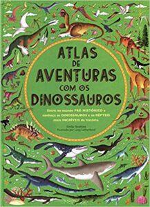 livros de dinossauros atlas de aventuras