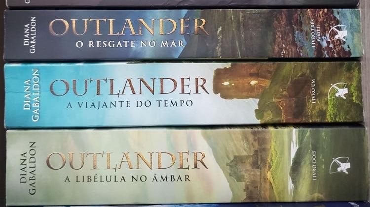 ordem dos livros de outlander