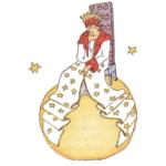 o rei - pequeno príncipoe